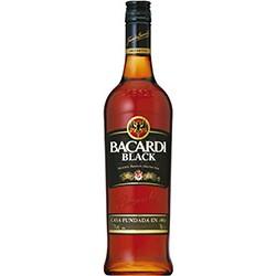 Bacardi Black rum cena
