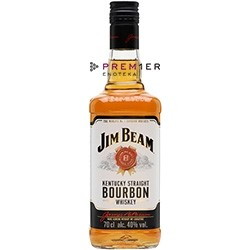 Burbon Jim Beam White Label Kentucky
