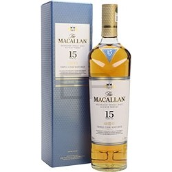 Macallan 15YO Triple cask single malt