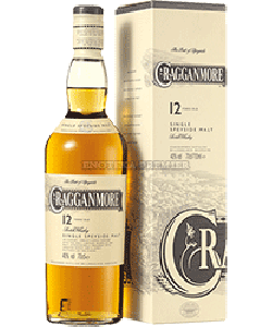 Cragganmore 12yo single malt whisky