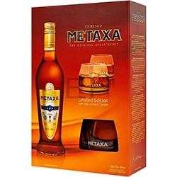 Metaxa 7* Gift sa dve čaše 0.70 l