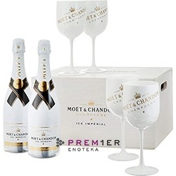 Moet & Chandon Ice Imperial Wooden Box Set