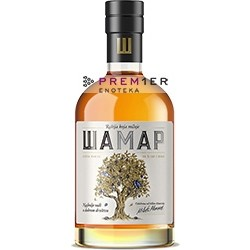 Rakija Šamar kupaža je destilata od nekoliko sorti šljive sa dodakom od 3% dunje.