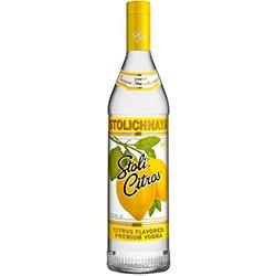 Stolichnaya Citrus votka