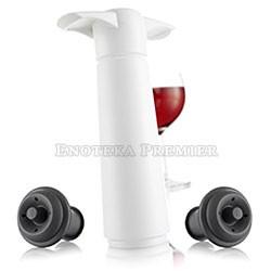 Vacu vin Vakuum pumpa za vino bela