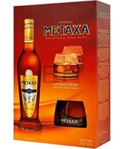 Metaxa 7* Gift sa dve čaše