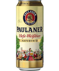 Paulaner Hefe-Weissbier Naturtrüb 0,5 l limenka