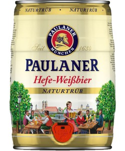 Paulaner Hefe-Weissbier Naturtrüb 5 l bure