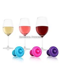 Zatvarači za vino - set u boji 3/1