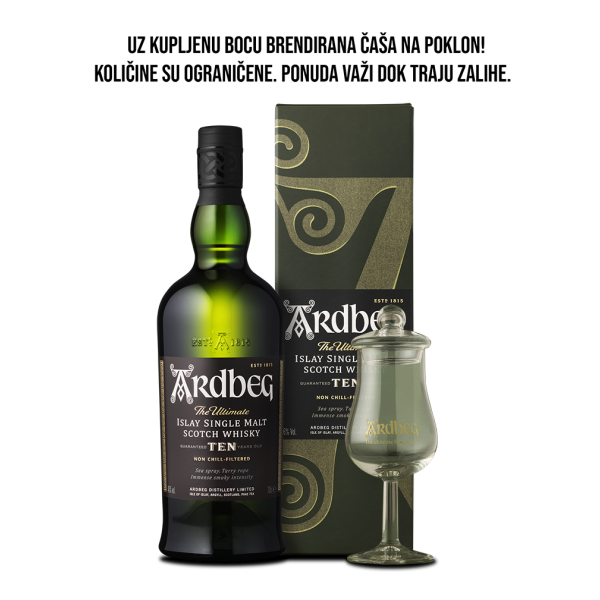 Ardbeg 10 Years Old single malt viski