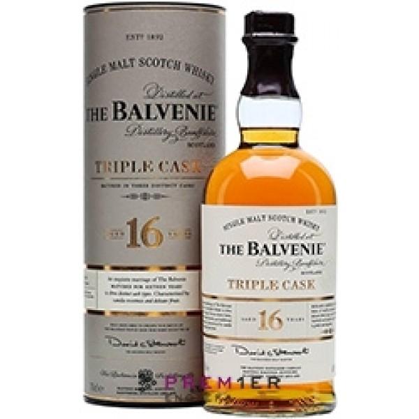 Balvenie 16YO Triple Cask single malt