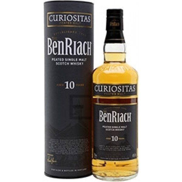 BenRiach Curiositas 10YO single malt viski