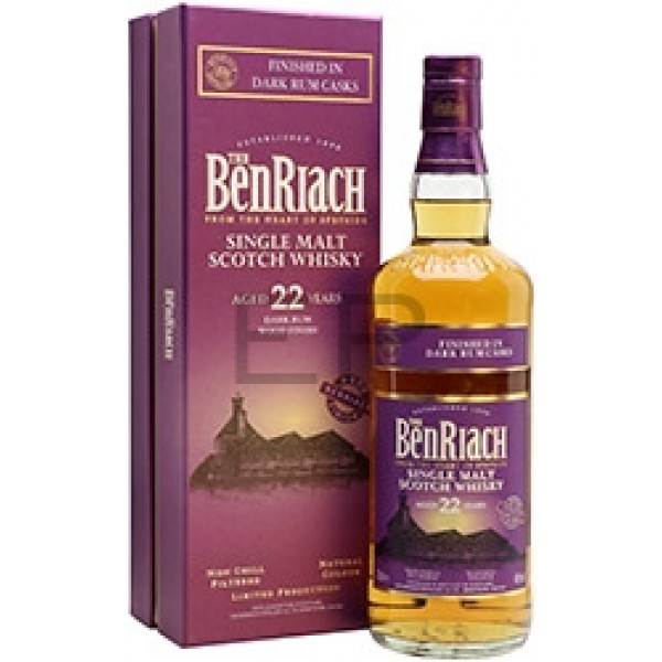 BenRiach 22YO Dark Rum Finish single malt viski