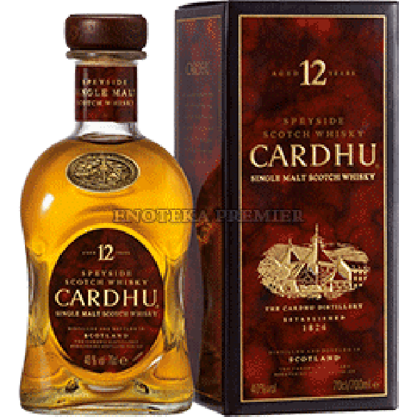 Cardhu 12yo single malt viski