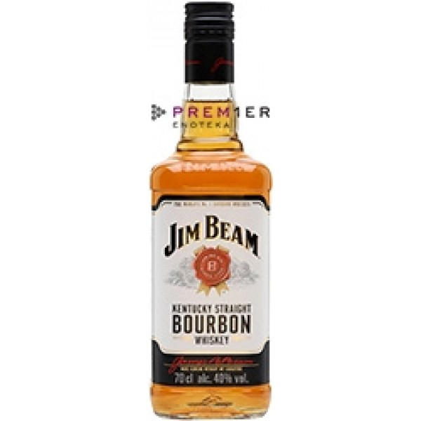 Burbon Jim Beam White Label Kentucky
