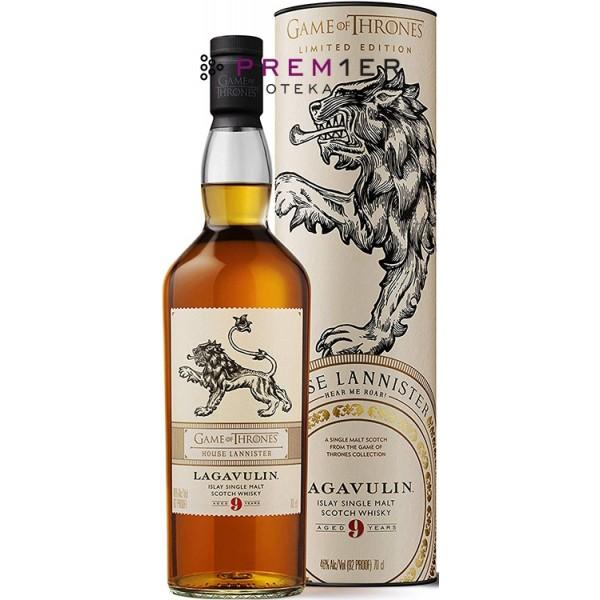 Lagavulin 9YO Game of Thrones House of Lannister