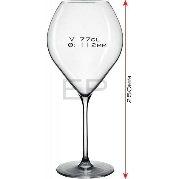 Lehmann Glass Jamesse Grand Rouge 77cl 6/1