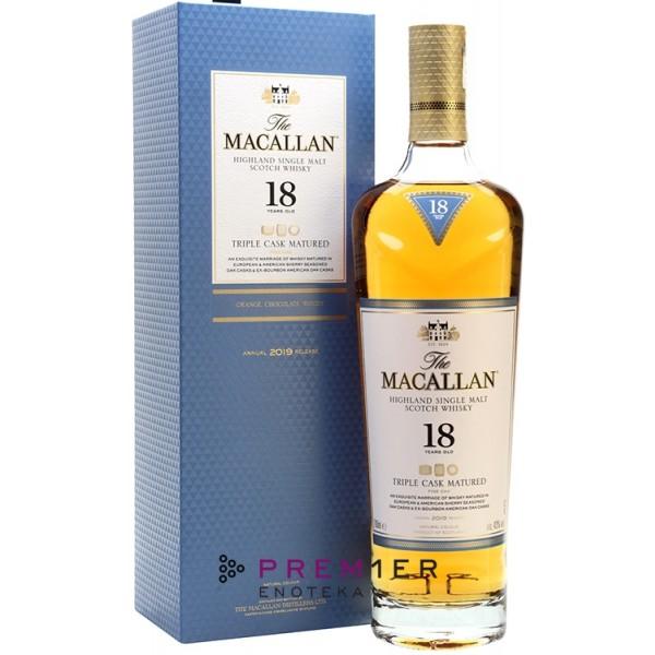 Macallan 18YO Triple Cask single malt