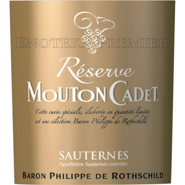 Baron Philippe de Rothschild Sauternes belo slatko vino