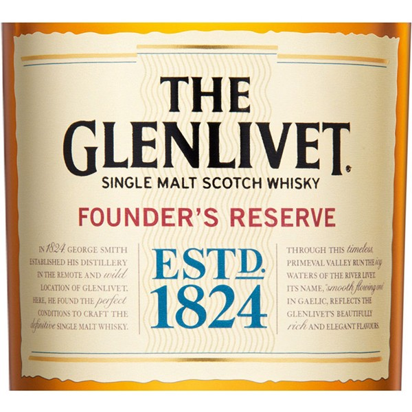 Glenlivet Founder's Reserve single malt viski