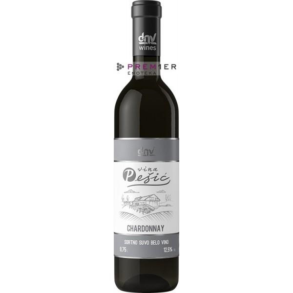 Vina Pešić Chardonnay klasik
