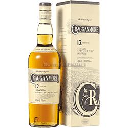 Cragganmore 12yo single malt whisky