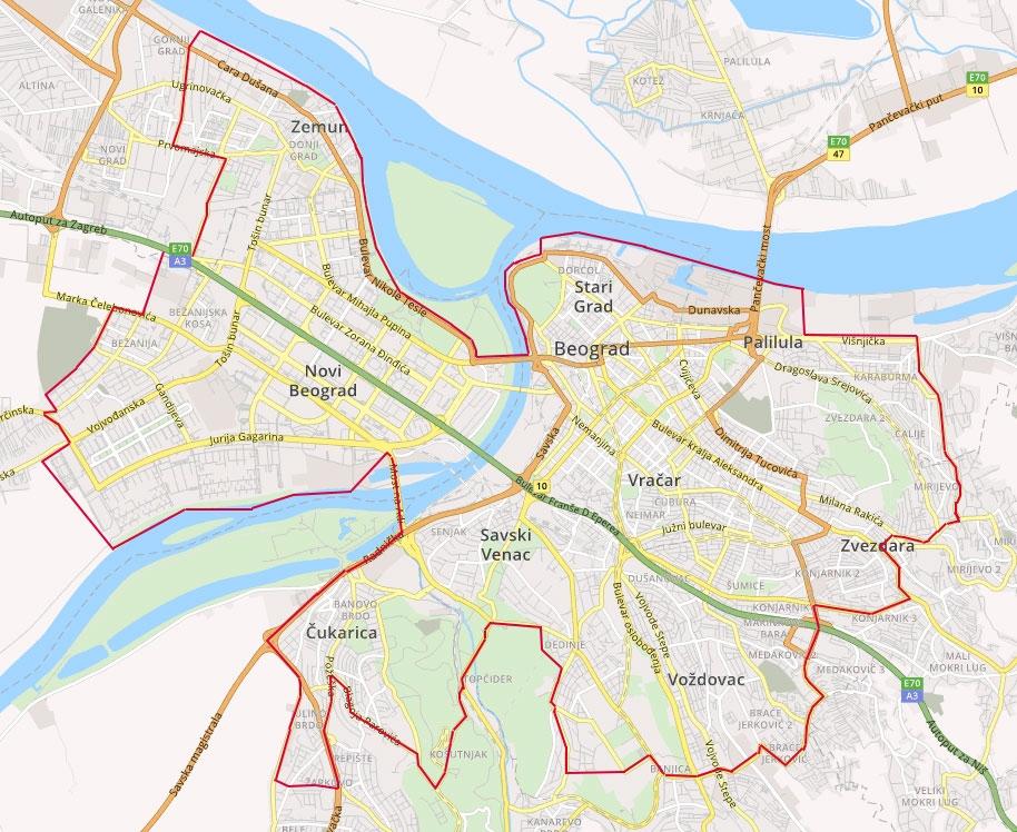Mapa za dostavu